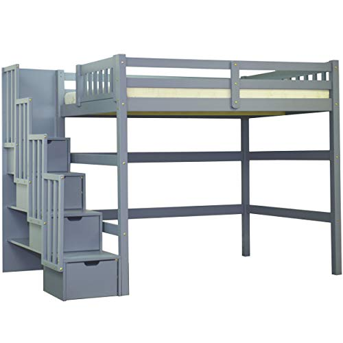 Canwood Ridgeline Bunk Bed With Built In Stairs Drawers